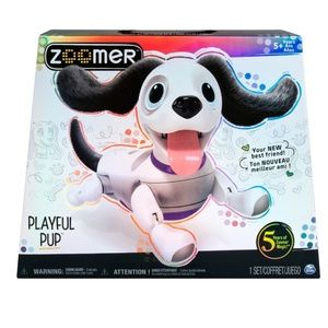 New Zoomer Playful Pup Robotic Dog Learns Tricks